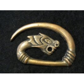 "GRAND FERMOIR ""DRAGON"" EN BRONZE"