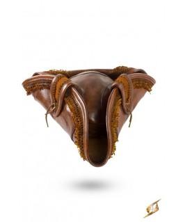 Tricorne brun