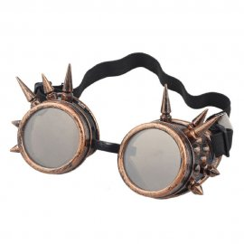 Goggles cuivre à pointes