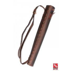 PETIT CARQUOIS DU CHASSEUR - en cuir Noir ou Marron