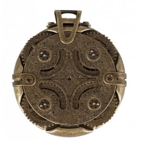 CRYPTEX CLE USB 32 Go STEAMPUNK ROND