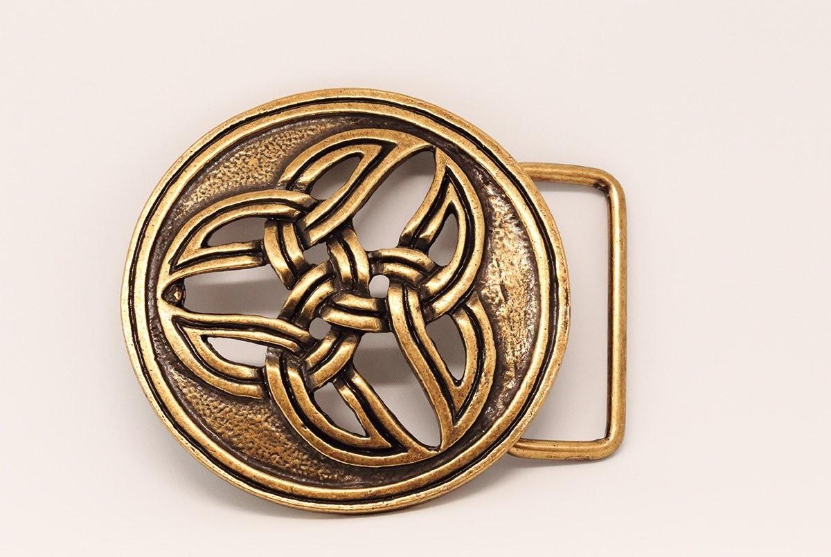 choisissez le dégagement sélectionner pour le dédouanement doux et léger boucle de ceinture bronze avec motifs celtes