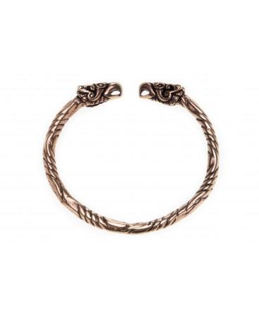 Viking Bracelet En Bronze Pour Femme v80wmNn