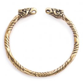 LARGE BRACELET VIKING EN BRONZE