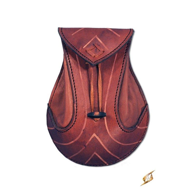 bourse elfique en cuir chevalier du drac. Black Bedroom Furniture Sets. Home Design Ideas