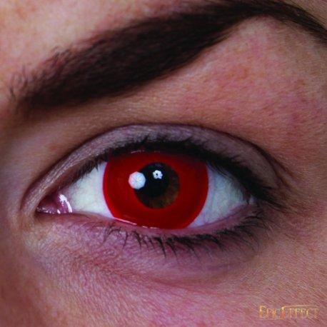 Lentilles yeux rouges chevalier du drac for Interieur yeux rouge