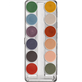 PALETTE SUPRACOLOR FARD GRAS INTERFERENZ 12 COULEURS
