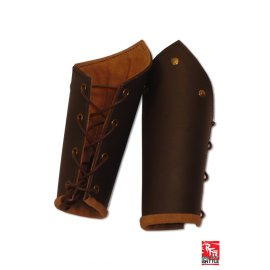 BRASSARDS EN CUIR MARRON