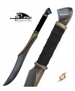 Ce sabre d'elfe est une épée à lame courte et un tranchant