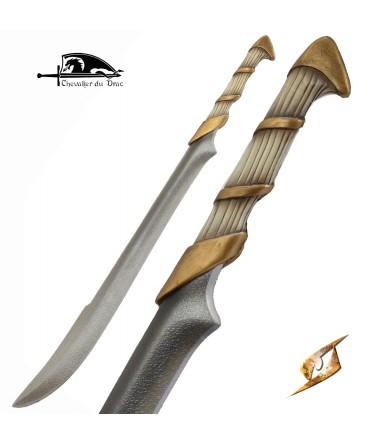 Cette épée d'elfe de la gamme stronghold est particulièrement solide