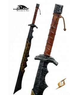 Cette épée rustique mais très efficace est l'arme prérérée des orques