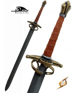 Une belle épée de duel avec pas d'âne et contre garde